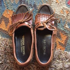 Maine Woods Light Brown Loafers